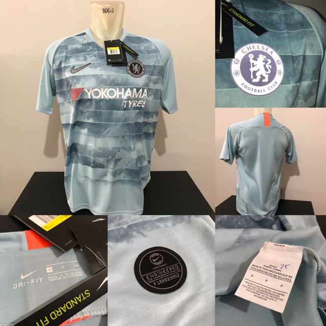 Jersey baju bola Chelsea 3rd official 2018 2019 grade ori top quality
