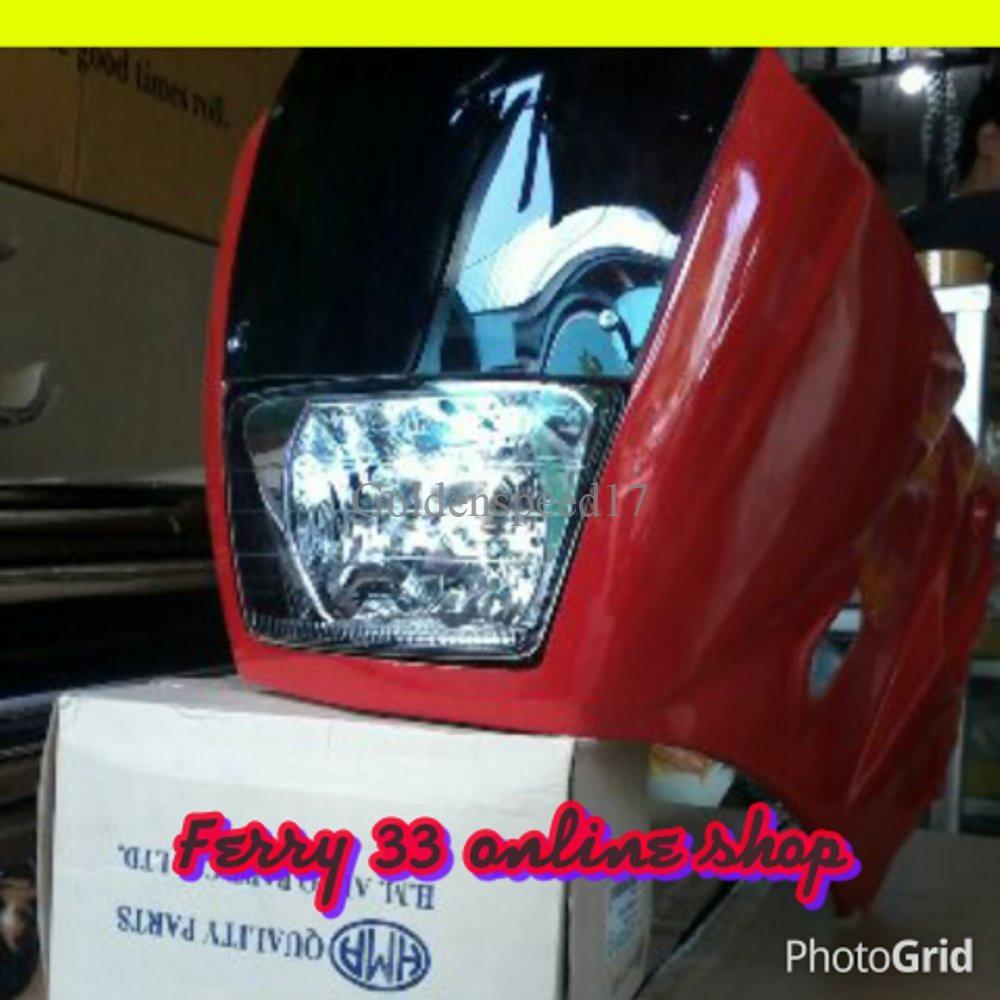 Dijual Fairing Ninja Ssr Fiber Limited Shopee Indonesia Shokbeker Kayaba Zeto Supra 125 Kharisma Revo Shogun125 Smash Arashi 340