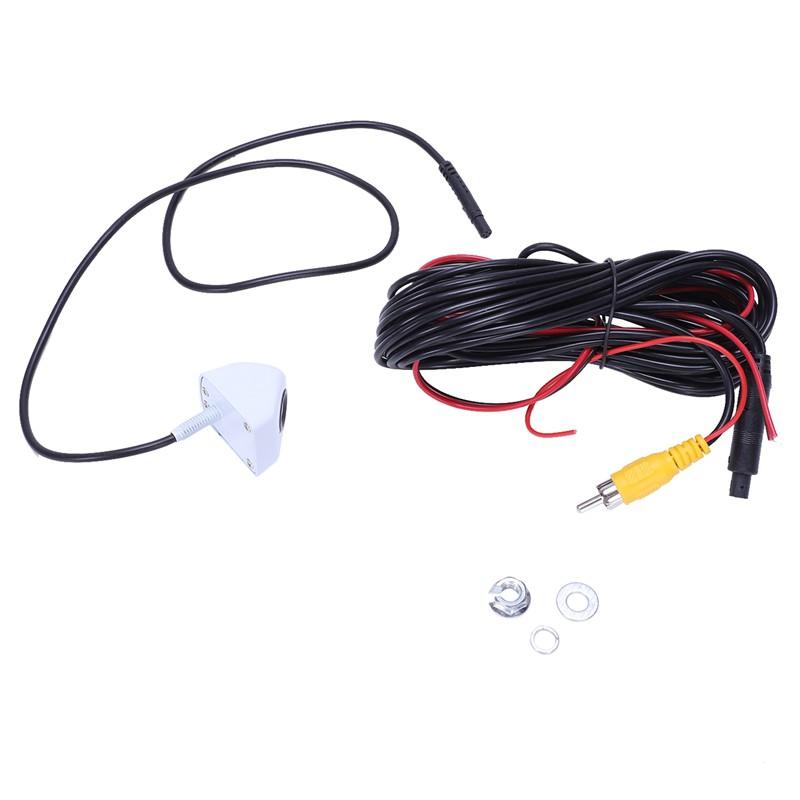 Kamera Mundur / Parkir CMOS 170 Derajat Warna Putih untuk Mobil on