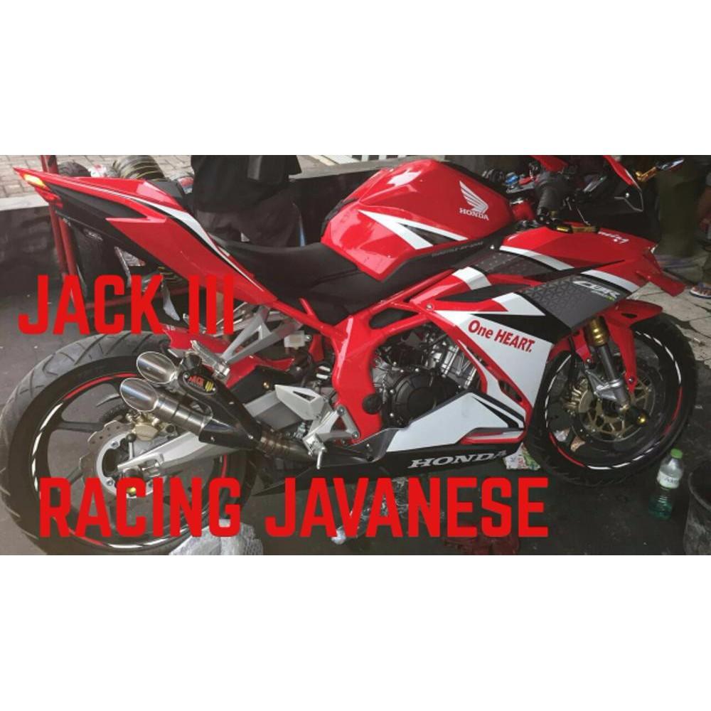 Knalpot R9 H2 Titanium Sb Ninja 250 Fi Karbu Cbr250rr R25 Mt25 Z250 Full System New Mugello Kawasaki Rr Mono Sl Shopee Indonesia