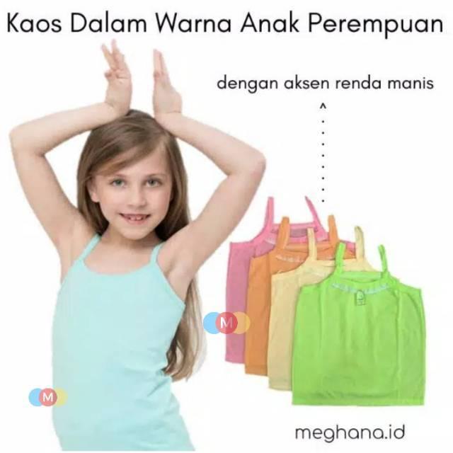 Kaos Dalam Anak Tk Sd Warna, Grosir Pakaian Dalaman Anak