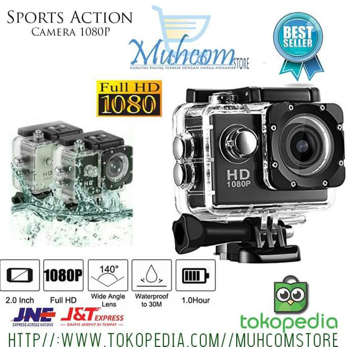 Sportcam Sport Camera Sport Action Hd 1080p Kamera Vlog Vloging Ori