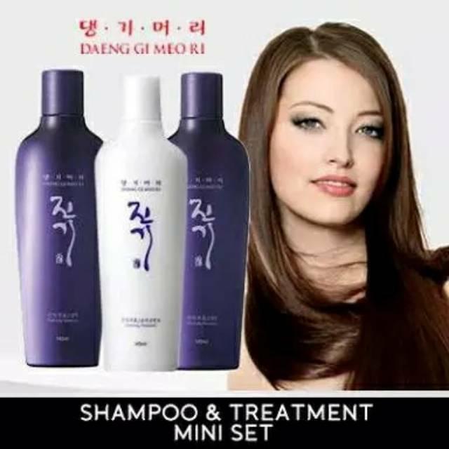 Daeng Gi Meo Ri Shampo dan Treatment Korea no 1 Premium Scalpcare Shampoo Treatment 70ml Terlaris | Shopee Indonesia