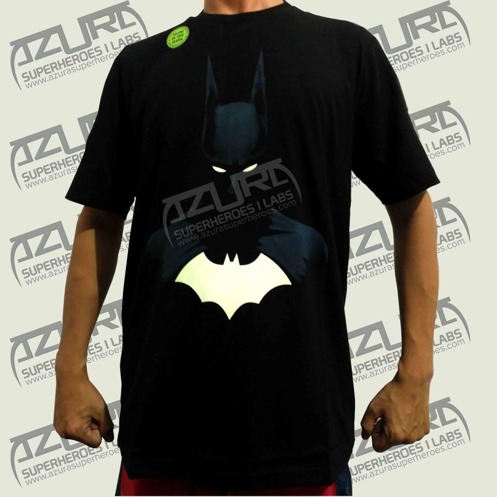 Kaos Azura Superhero Glow In The Dark - Batman Mata  bbcb6ea603