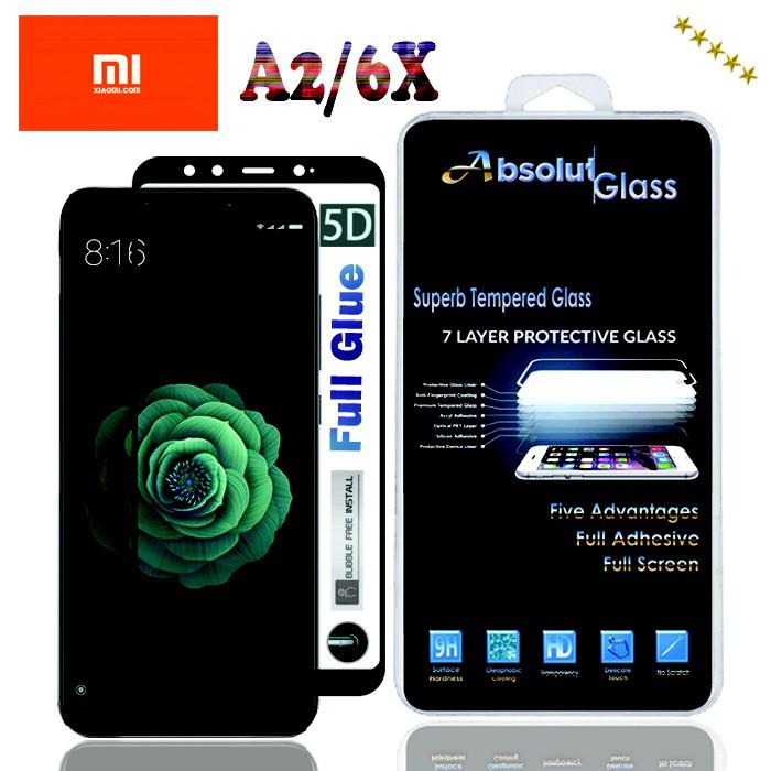 Tempered Glass Absolut Xiaomi Pocophone F1 Full Lem 5D Full Cover | Shopee Indonesia