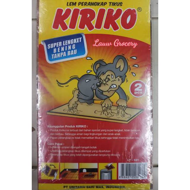 Kiriko Lem Perangkap Tikus 2pcs Shopee Indonesia