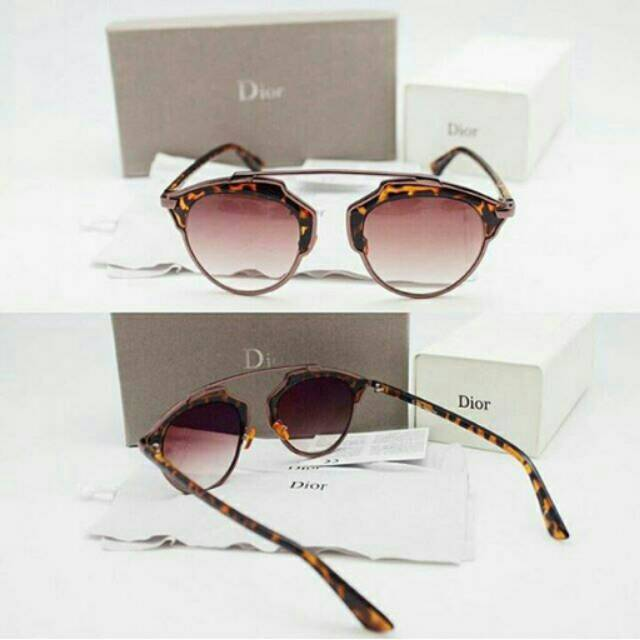 Kacamata dior so real tortoise lensa gradasi full set  22af2dfcc3