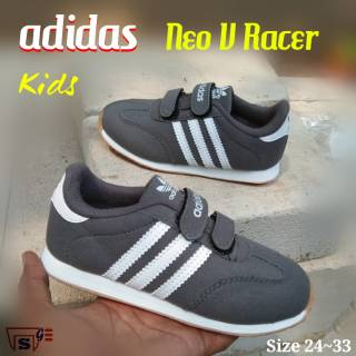 Adidas neo baseline white rose gold kids | Sneakers | Shopee