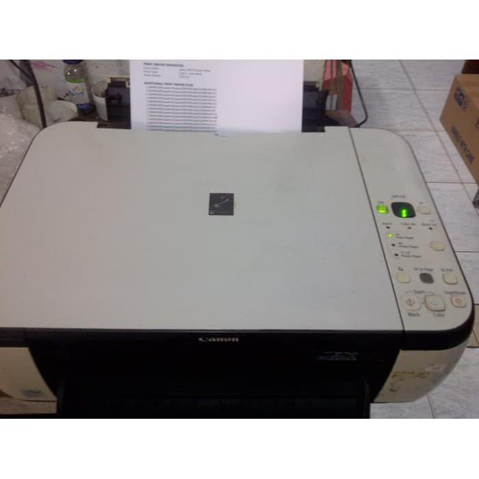 Printer Canon Mp258 Bekas Kosongan Tanpa Cartridge Ready Bergaransi Shopee Indonesia