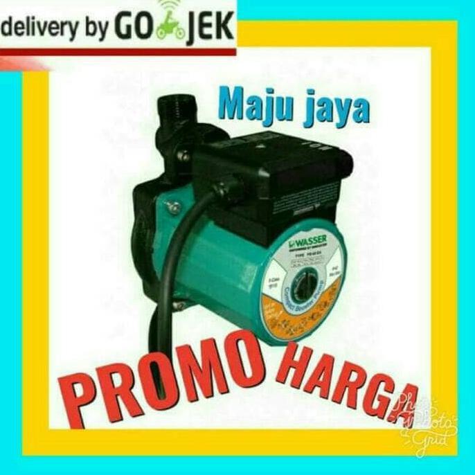 """Peralatan Ledeng / Pompa Air Sedot Dari Pam/ Booster Dorong Kran """"Sanyo""""125 Watt   Shopee Indonesia"""