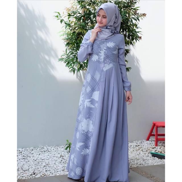 Baju Gamis Javina Terbaru Hijab Muslimah