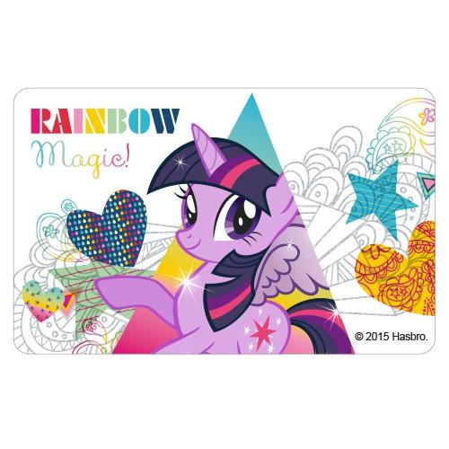 Mainan Kuda Pony Kartun Warna Pelangi Shopee Indonesia