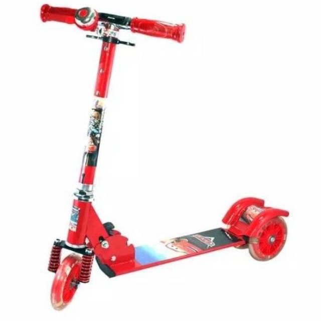 Scooter 3 Roda Otoped Skuter Anak Karakter
