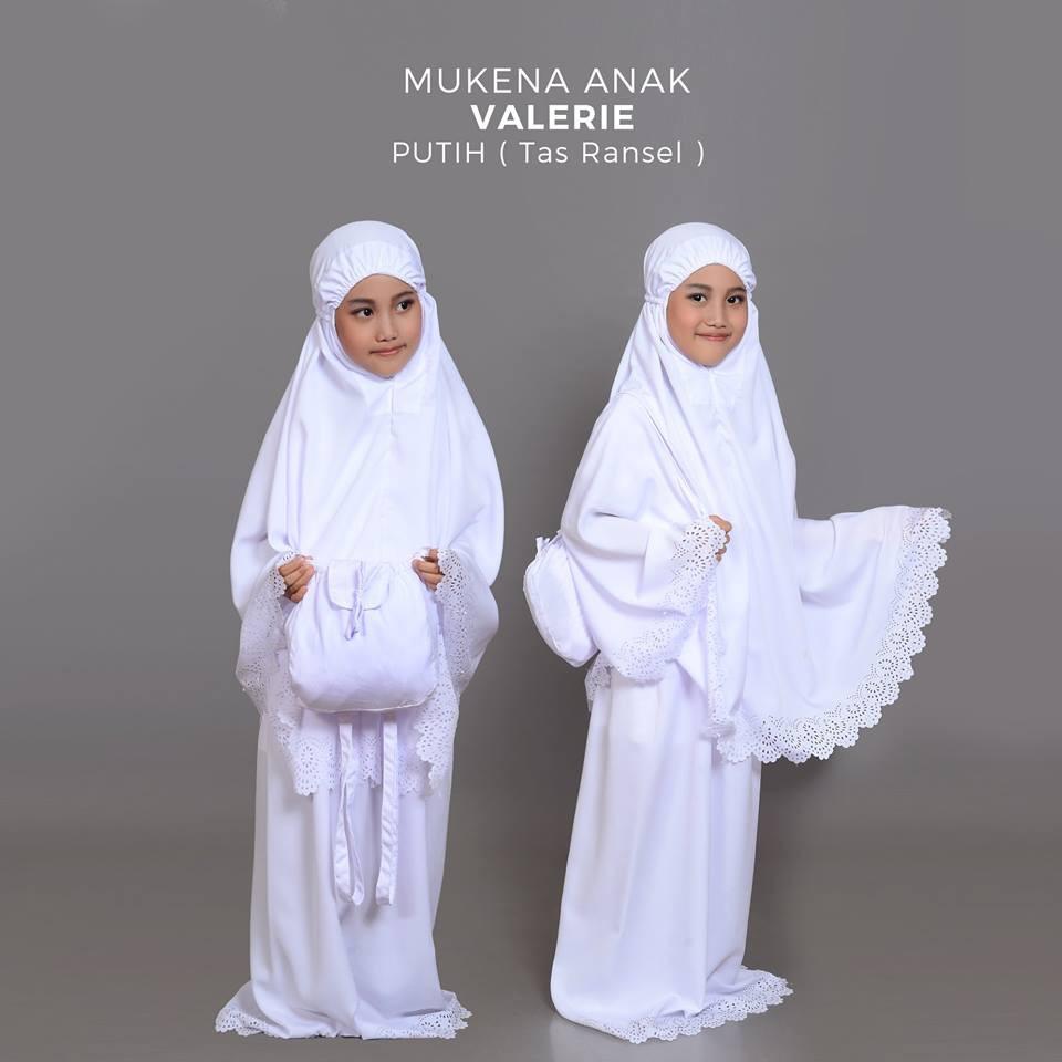 Ukhuwah Naziha Pink Shopee Indonesia Mukena Bordir Homemade Hafsyah Putih