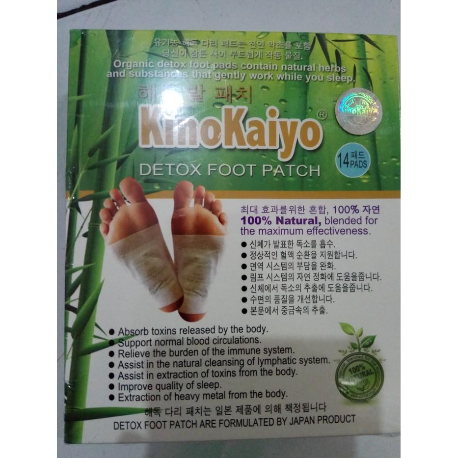 Kiyome Kinoki Shopee Indonesia Gold Detox Food Pad Koyo Penyerap Racun Dalam Tubuh