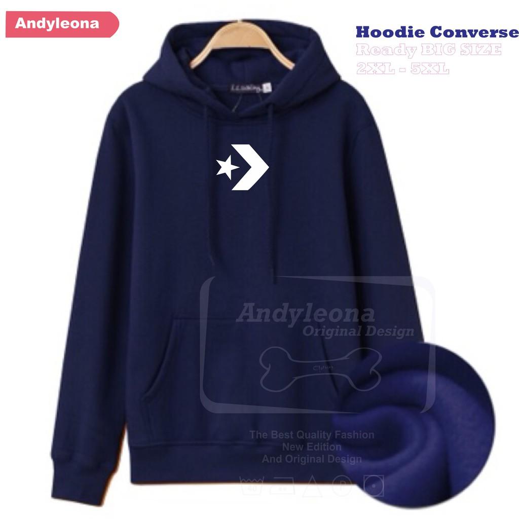 Jaket Hoodie Sweater Jumbo Pria Wanita Polos Big Size S M L XL XXL XXXL XXXXL XXXXXL Abu