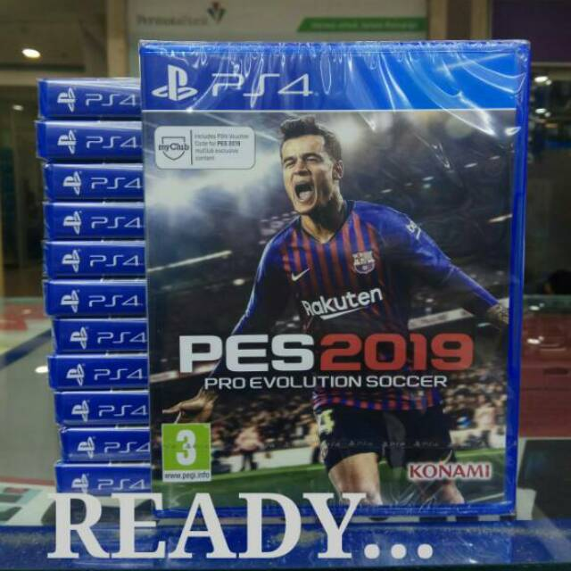 Game Ps4 PES 2019