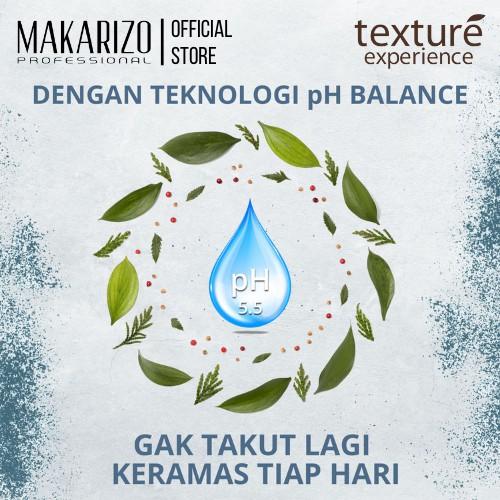 Makarizo Professional Texture Experience Shampoo Mint Sorbet 250 mL-2