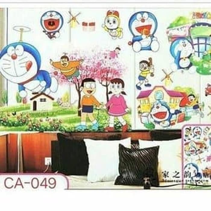 Stiker Dinding Motif Doraemon Timbul 3d 5d Hiasan Dinding Dekorasi Kamar Anak Shopee Indonesia