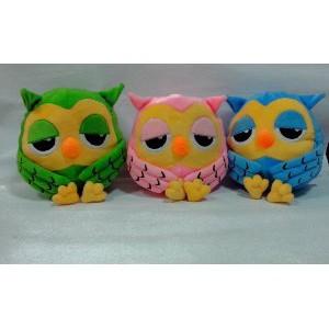Jual Boneka Owl Roumang The Heirs Burung hantu 30 cm lucu murah warna pink  hijau atau biru Murah  9c12cff272