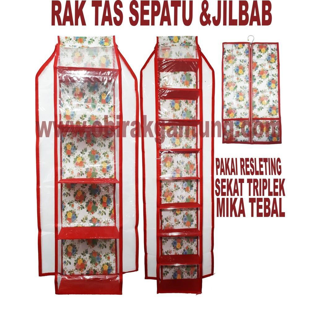 Hbo Rak Tas Gantung Shopee Indonesia Hboz Frozen Biru Hanging Bag Organizer Zipper Retsleting