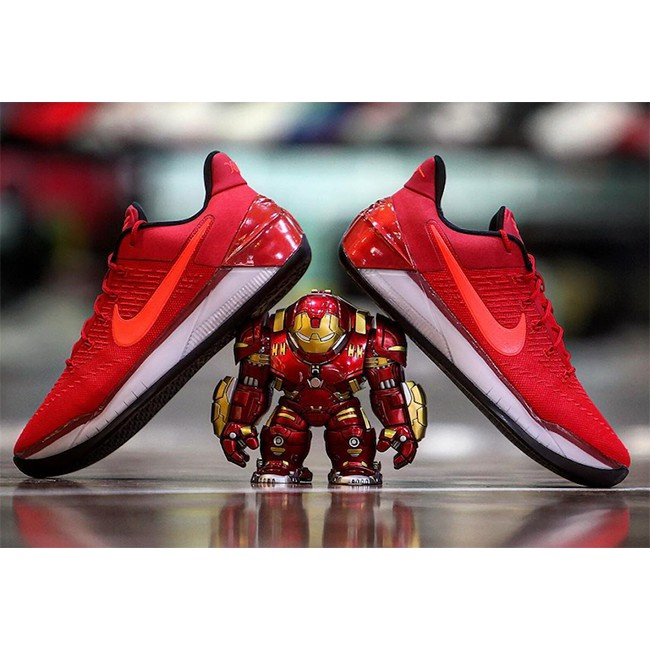 Sneakers Shoes Design Nike Kobe Ad University Red Color Shopee Indonesia
