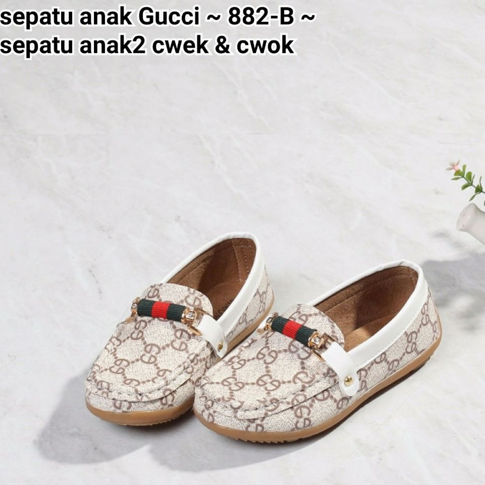 Sepatu Anak 2 Gucci London cewek   cowok Series   882-B  cba09034c9