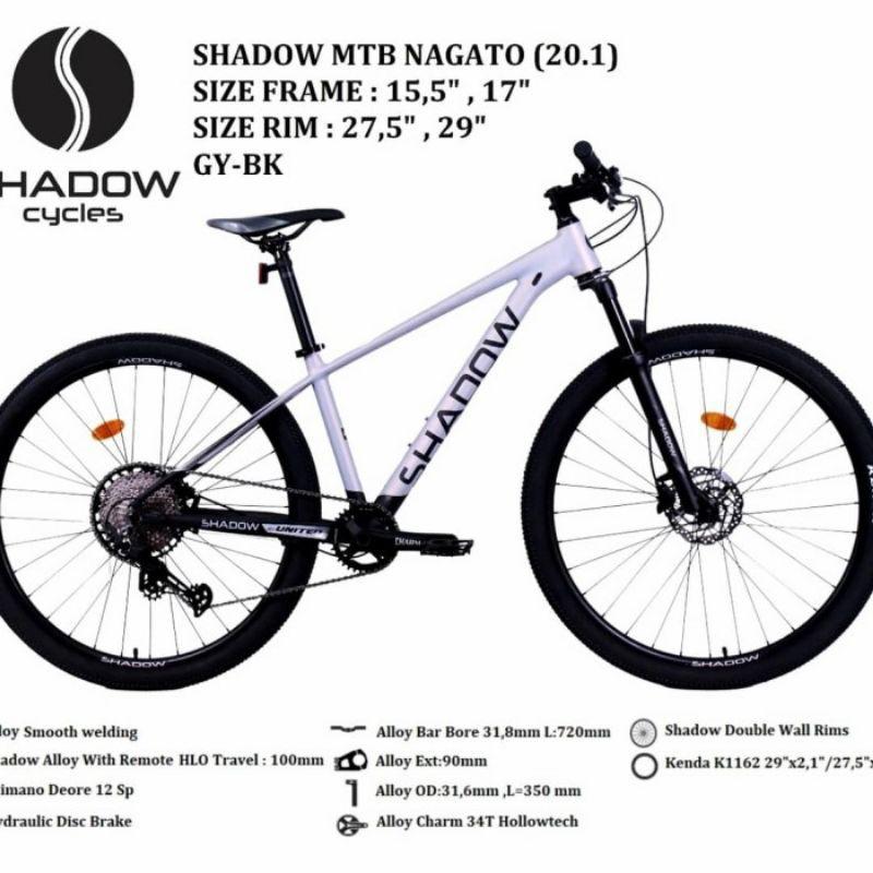 sepeda gunung 29 mtb shadow nagato 20.1