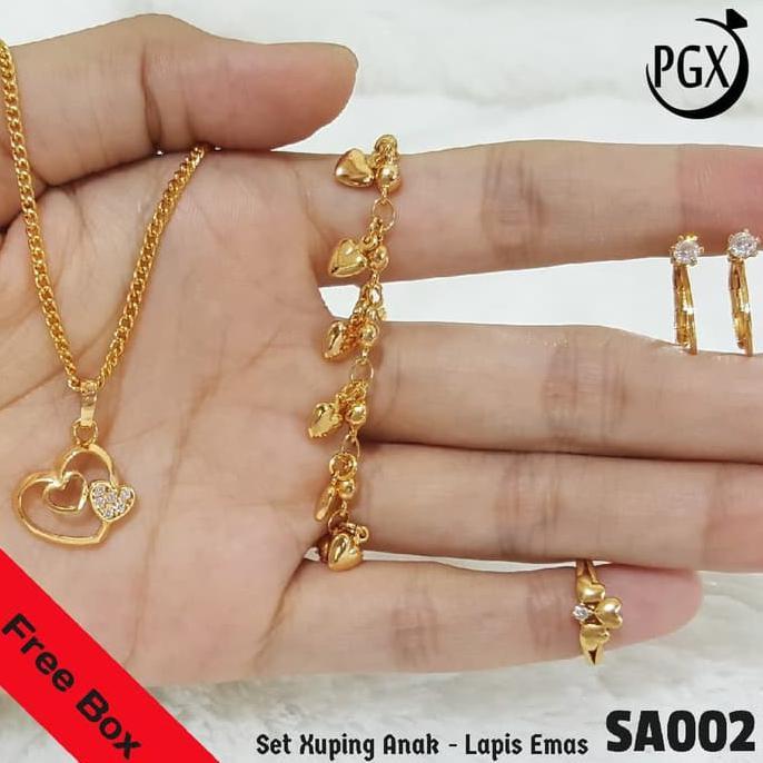 Cincin+Gelang+Anting+Bayi+&+Anak+Perhiasan+Anak - Temukan Harga dan Penawaran Online Terbaik - September 2018   Shopee Indonesia