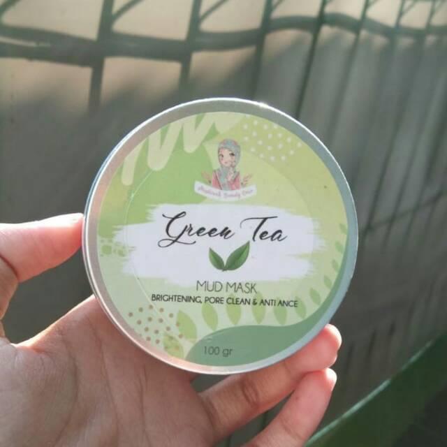 Mud Mask Green Tea by Muslimah Beauty Care | Shopee Indonesia