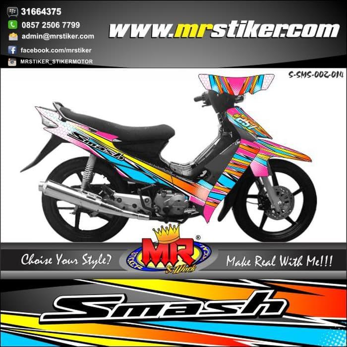 Stiker Motor Smash 110 Shopee Indonesia