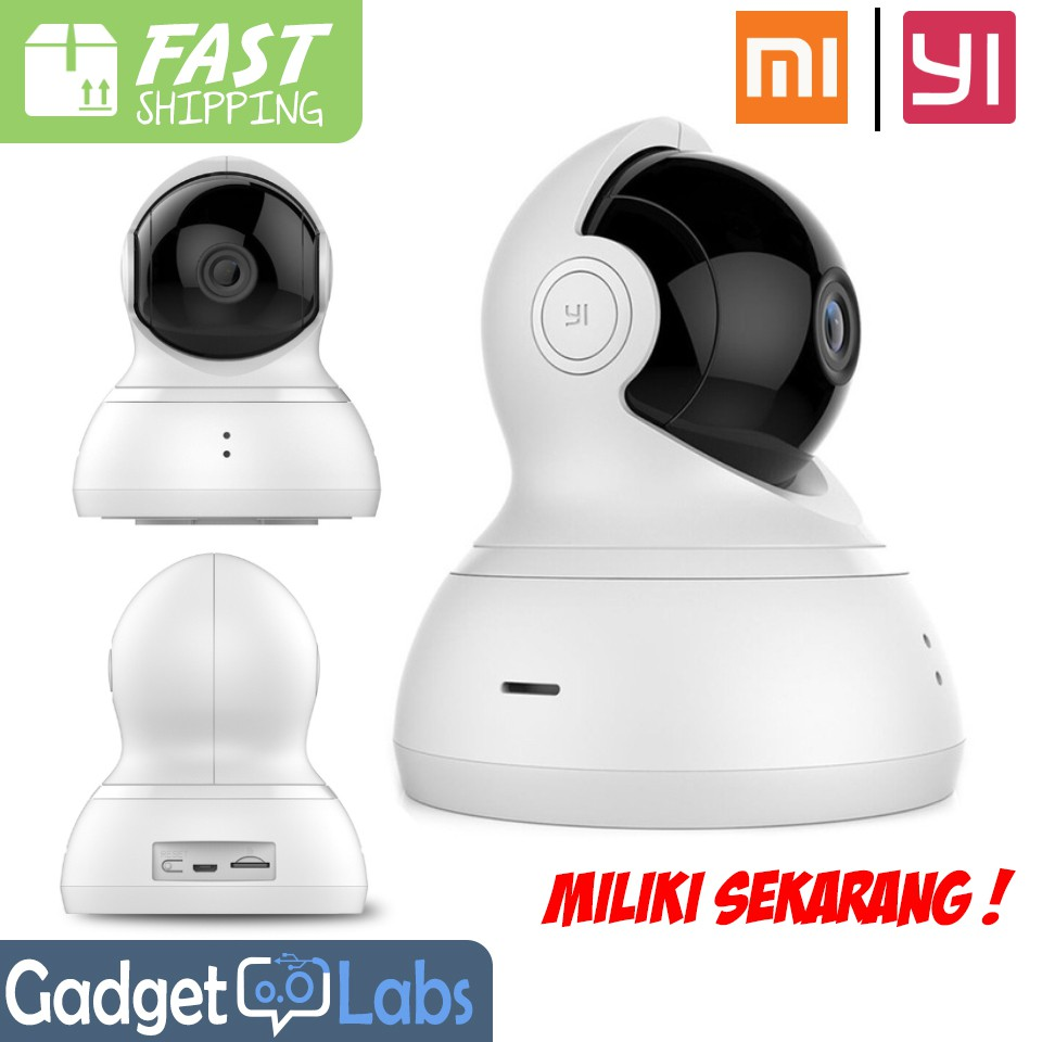 Hot Xiaomi Yi Dome Home Cctv Camera 360 Vision International Mmc Paling  Ipcamera Outdoor Wireless Super Spring Ipcam Ip550 Shopee Indonesia