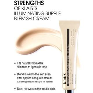 [Fullsize] KLAIRS illuminating supple blemish cream 40ml thumbnail