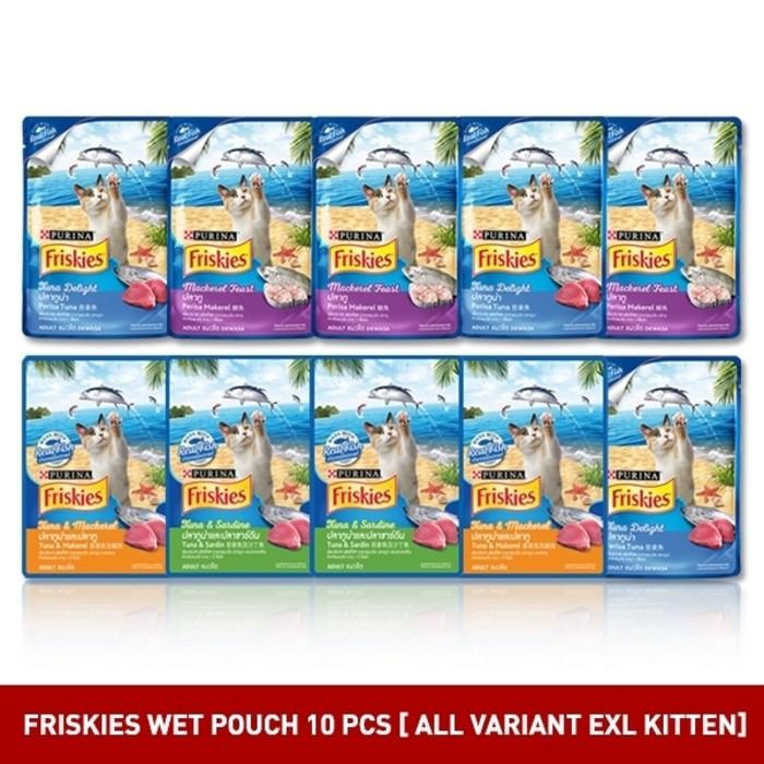 FRISKIES Seafood Sensations 1.2kg + 3 Wet Pouch (random) + 1 Party Mix