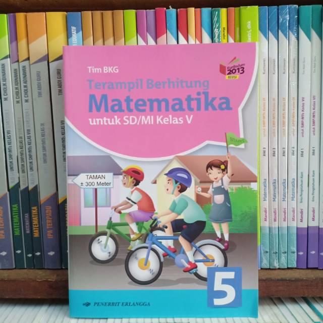 Terampil Berhitung Matematika Kelas 5 Sd Erlangga Shopee Indonesia