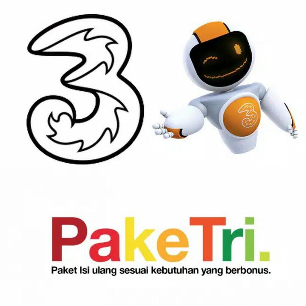 Paket Data Kuota Internet Tri Three 3 1gb 2gb 3gb 4gb 5gb 6g 8gb Voucer Perdana Aon 10gb 33gb 66gb Get More 4g Voucher Shopee Indonesia