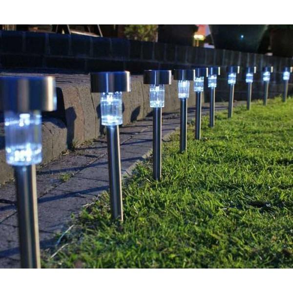 Jual Lampu Taman Led Tenaga Surya Tenaga Matahari Fleksibel Murah Terlaris Shopee Indonesia
