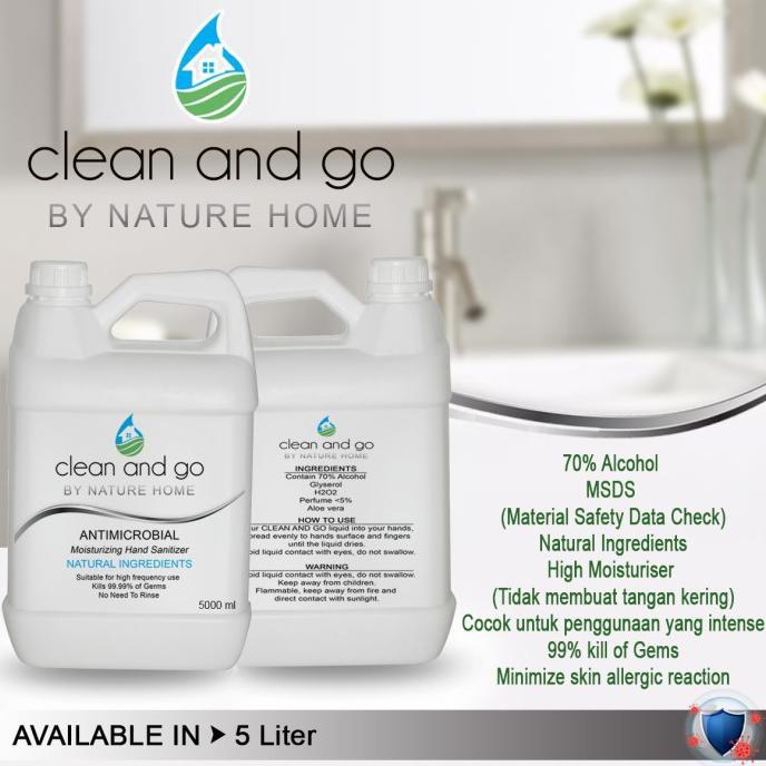 hand sanitizer 5 liter ( GEL )