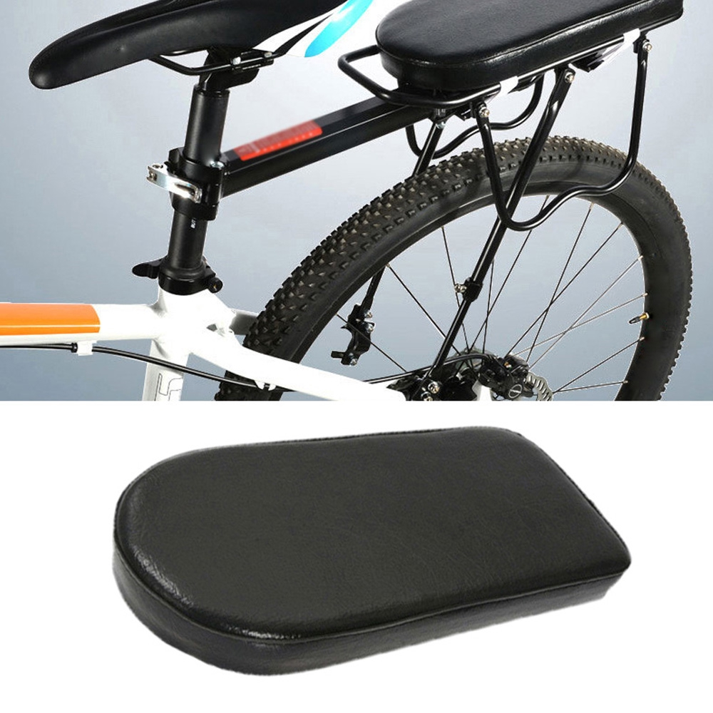 Bicycle Rear Bike Back Seat Cushion Mtb Components Black Saddle Mat Cover Gear