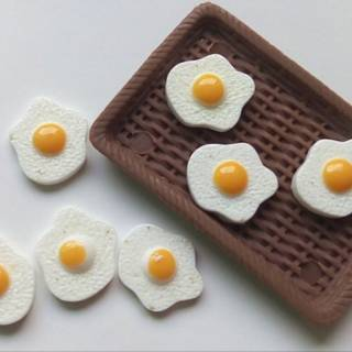 Miniatur Telur Egg Miniature Simulasi Telur Miniatur Makanan Aksesoris Barbie Mainan Telur Shopee Indonesia