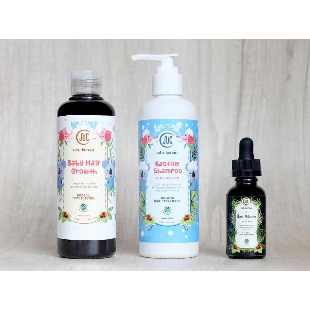 Minyak Penyubur Rambut Bayi Balita Dan Shampoo Tradisional Untuk Bmks Kemiri Bpom Khusus Flash  1 Pcs Anak Merk Ratu Shopee Indonesia