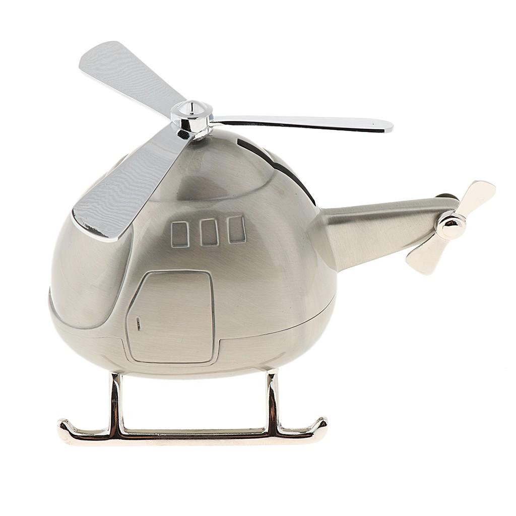Celengan Desain Kartun Helikopter Piggy Bank Kreatif Untuk Anak Kecil