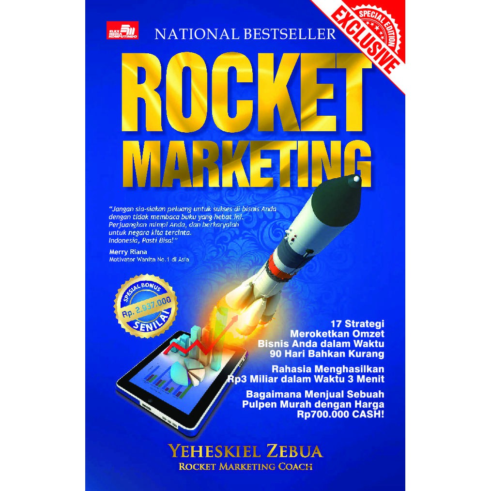Rocket Marketing Strategi Meroket Buku Digital Pdf Shopee