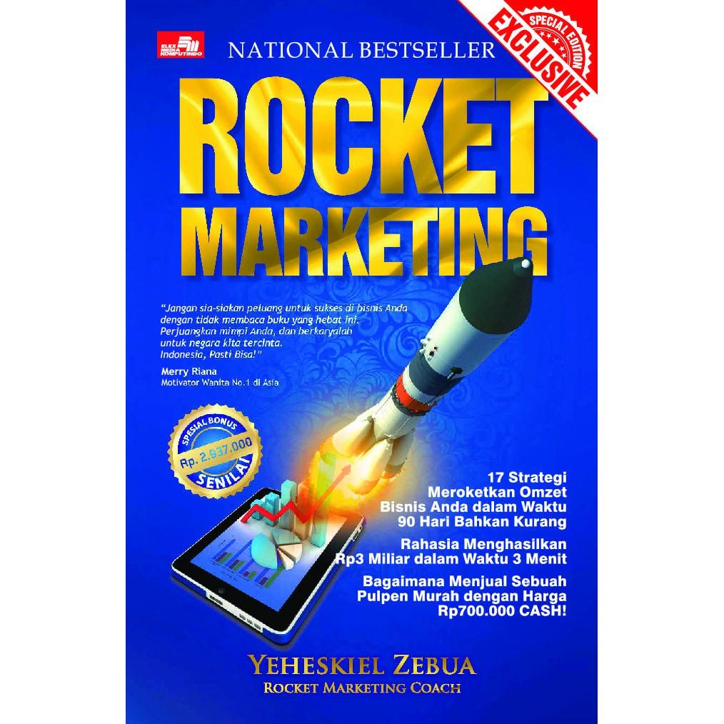 Rocket Marketing Strategi Meroket Buku Digital Pdf Shopee