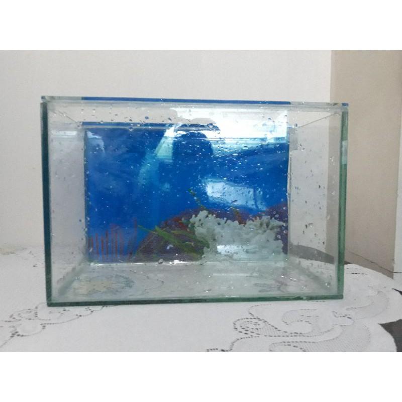 Aquarium 30x15x20 tebal full 5ml