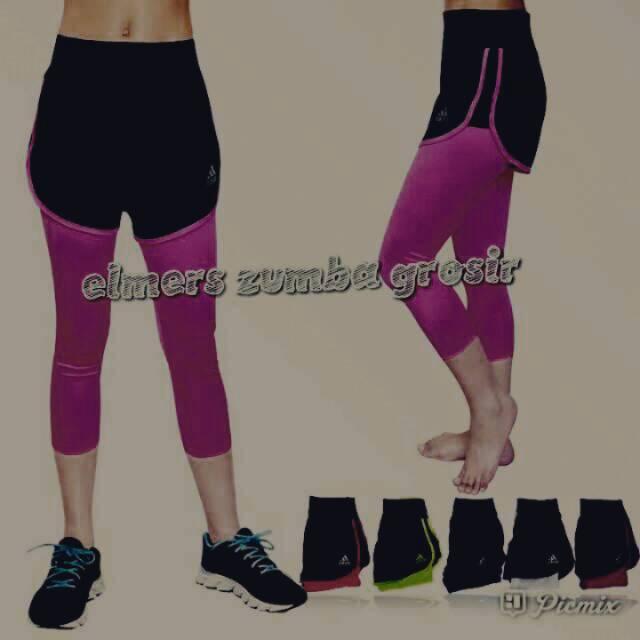 Celana Legging Sport Olahraga Zumba Aerobik Senam Hotpen Murah Shopee Indonesia