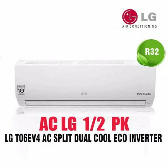 AC LG 1/2 PK 1/2PK inverter T06EV4 ( Double Eco Inverter ) Unit Only