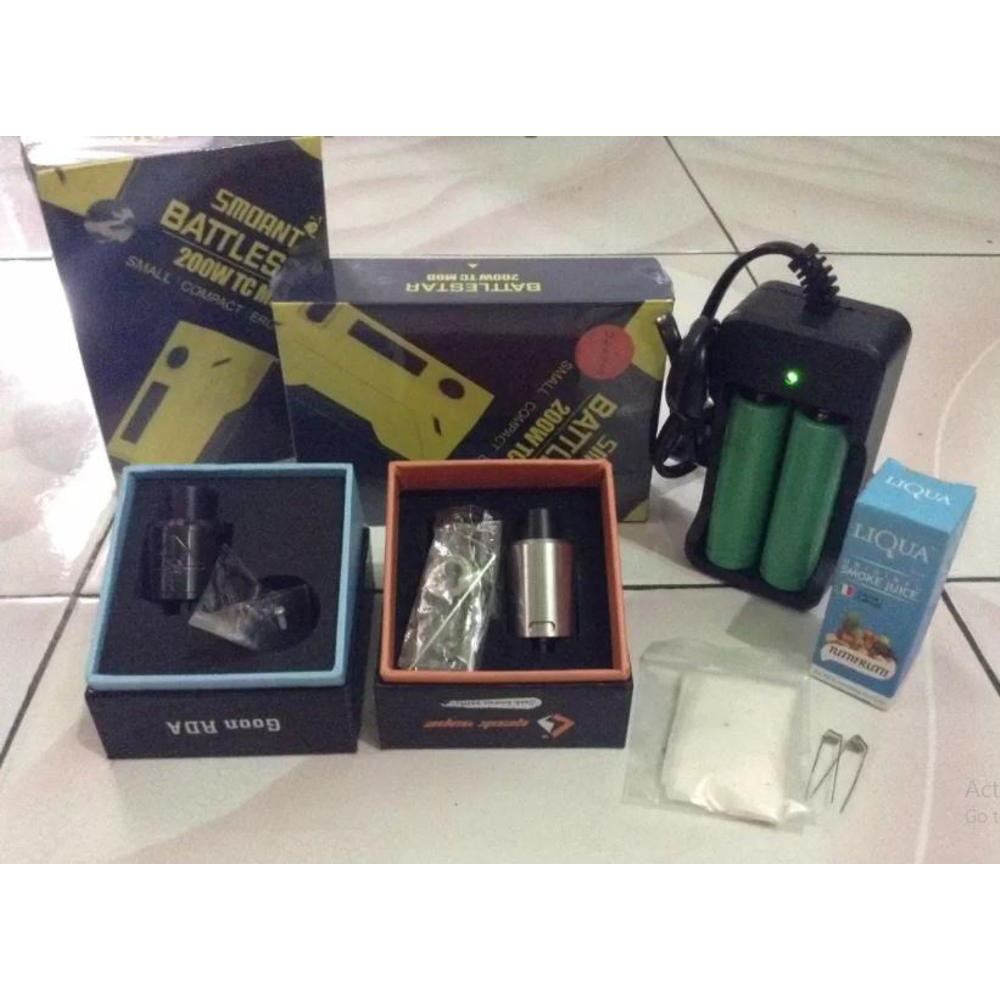 Paket Siap Kebul Psk Smoant Battlestar 200w Shopee Indonesia Vaporstrom Vapor Strom Puma Box Mod Ekonomis
