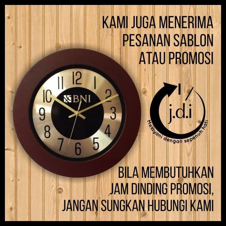 Terbaru Hiasan Jam Dinding Kaligrafi Surat Ar-Rahman 13 Wooden Uk 30X40  f854414471