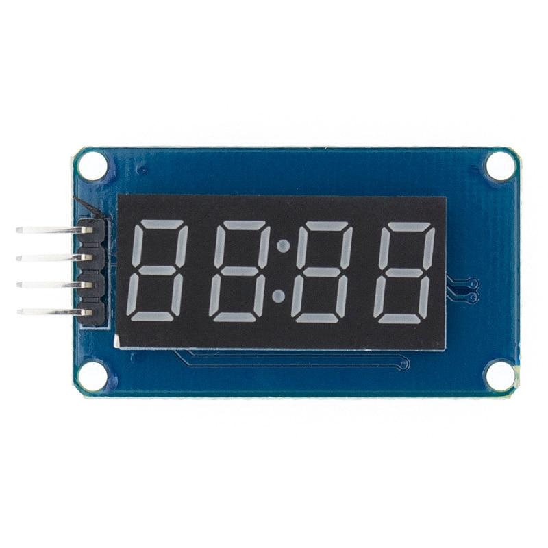 "0.56/"" inch TM1637 White 4-Bits Digital LED Clock Tube Display 5V for Arduino"
